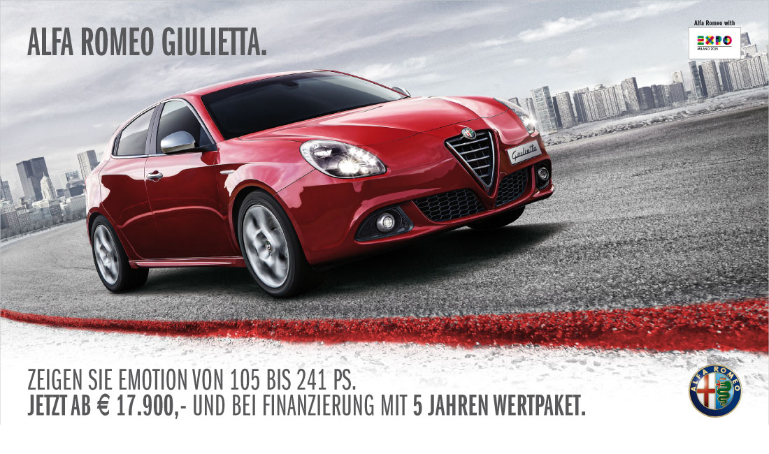 Inserat - Alfa Romeo Giulietta