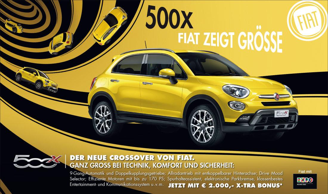 Inserat - Fiat 500X